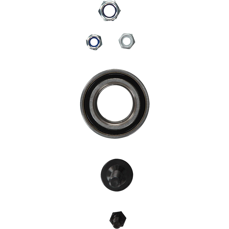 Febi 03625 Radlagersatz mit Antriebswellenschraube und Muttern