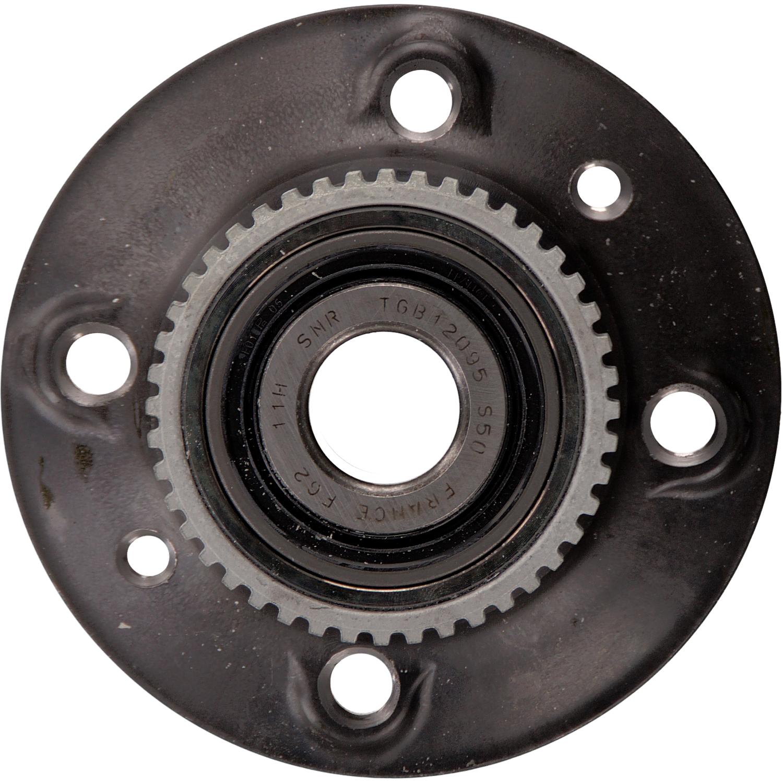 febi 39252 kit de roulement de roue avec moyeu de roue bilstein group partsfinder. Black Bedroom Furniture Sets. Home Design Ideas