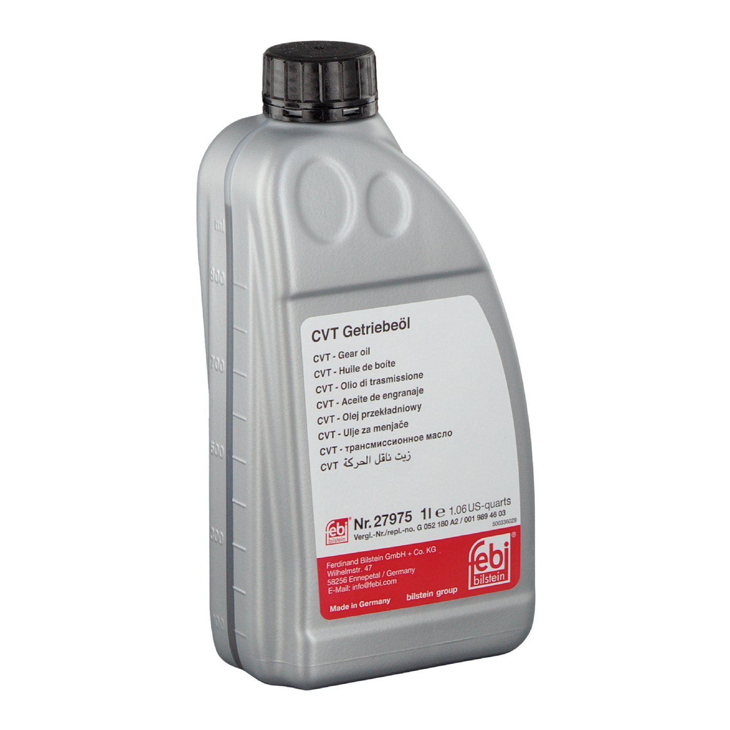 febi | 27975 | Automatic Transmission Fluid (ATF) for CVT gearbox