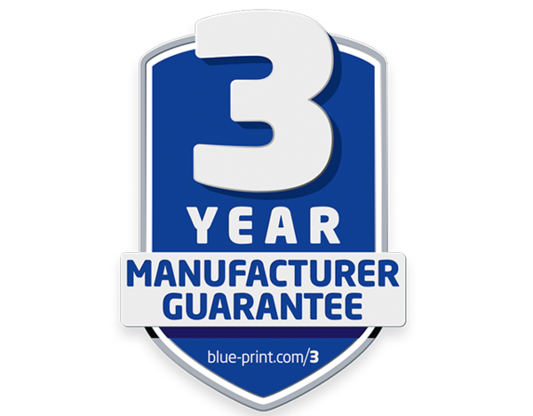 3 years warranty blueprint